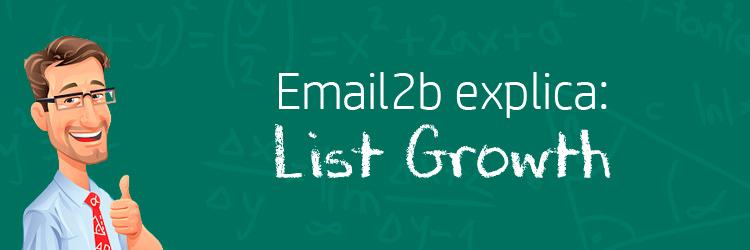 Taxa de crescimento da base de e-mails: como calcular e qual a sua importância