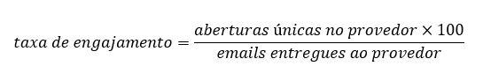 Email2b taxa engajamento